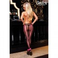 Corset Back Fishnet Pantyhose W/Bows
