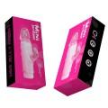 Vibrador estimulador clitóris Mini Rabbit - Jelly