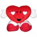 Coração em pelúcia