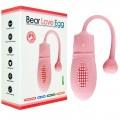 Mini cápsula egg recarregável - 10 pulsações diferentes - rosa