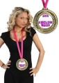 Medalha personalizada para noiva