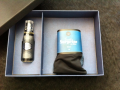 Kit masculino caixa surpresa com boxer + perfume